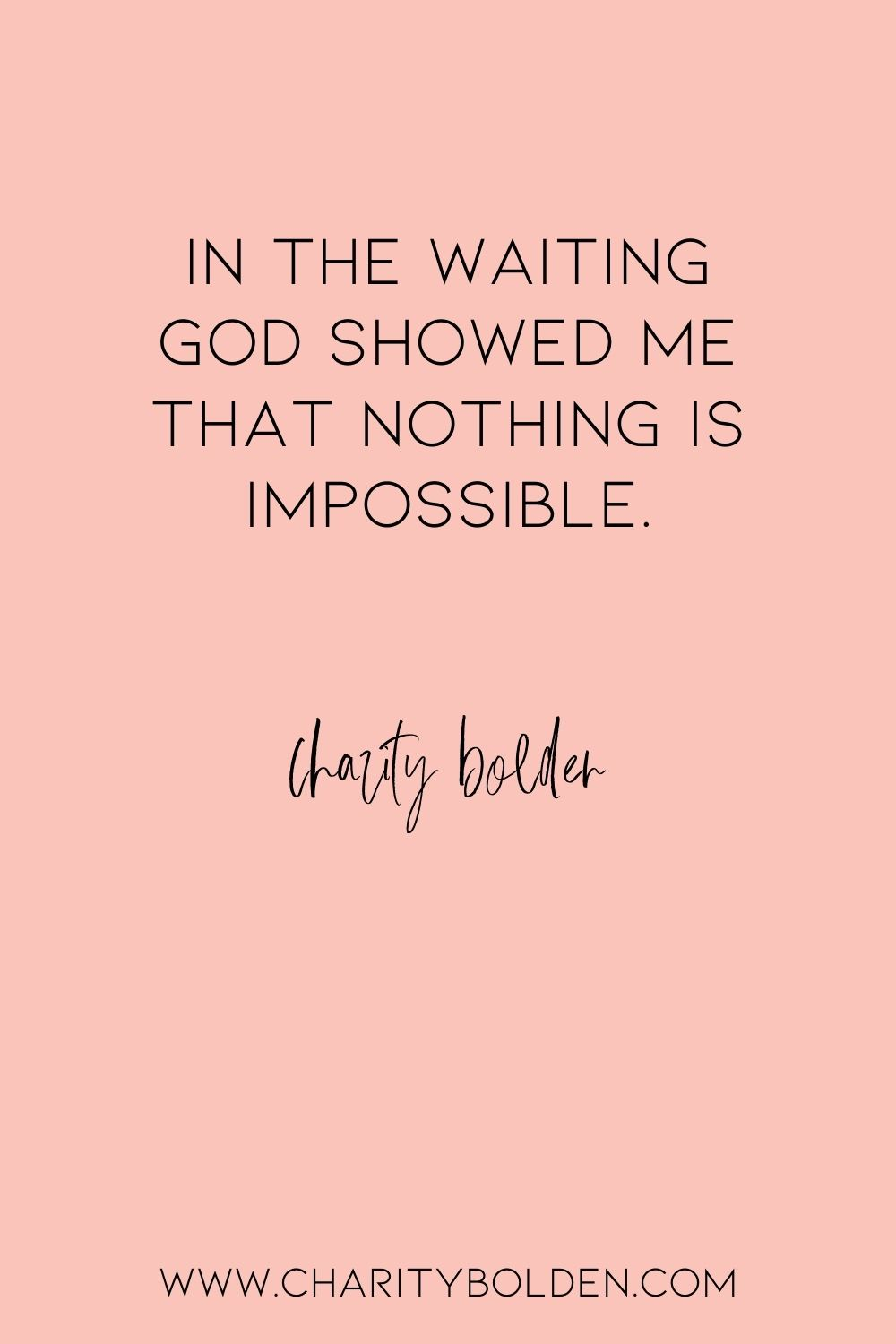 Do You Believe Nothing Is Impossible For God Spiritual Growth Quotes Journey Quotes Reflection Quotes