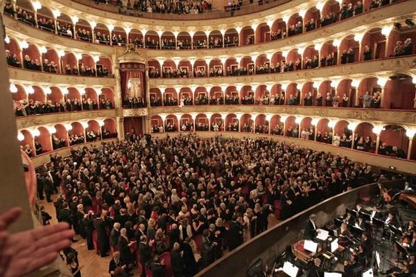 This Is The Full House I Would Like To Perform In Front Of Rome Teatro Concert Hall