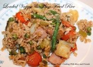 Cooking With Mary and Friends: Loaded Veggie & Ham Fried Rice
