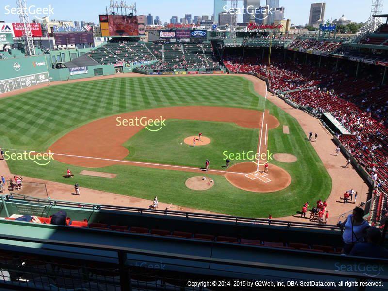 Boston Red Sox At Fenway Park Pavilion Box 2 View Addam