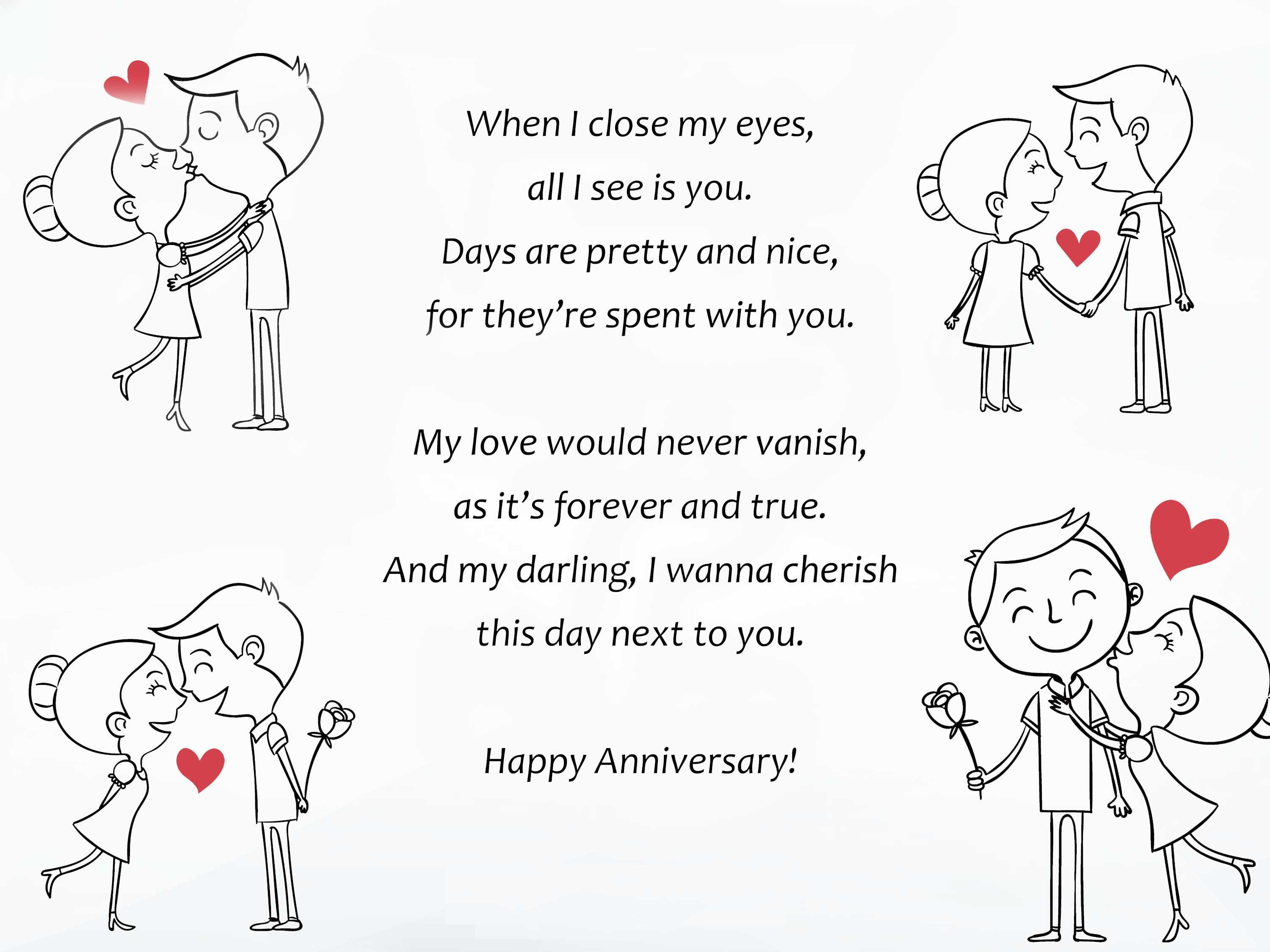 Top 10 Anniversary Poems for Him Poems For Husband