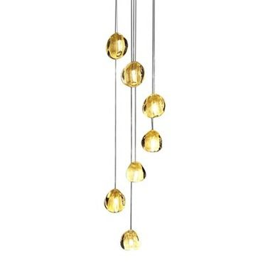 Mizu 7 light pendant terzani usa at lightology