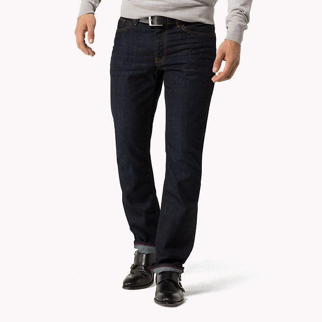 8b0a21d67cd2d Tommy Hilfiger Straight Fit Jeans - clean blue-eur (Blue) - Tommy Hilfiger