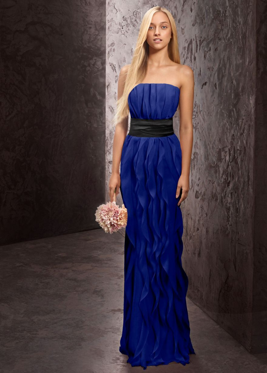 Its different maybe do the blue and orange bridesmaids ideas