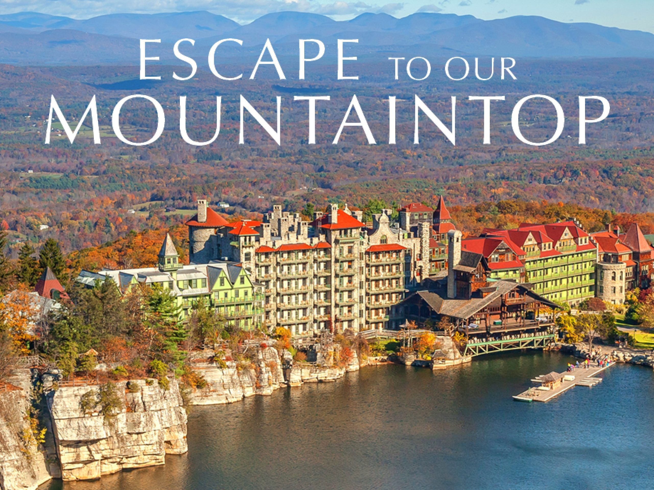 Hudson Valley Resort Mohonk Hotels