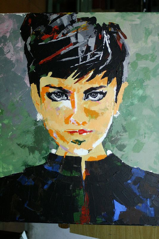 Asó lo hacemos @academiataure!  #retrato #portrait #acrilico #acrylique