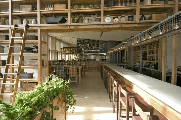 JG Domestic Americana Restaurant Serves Up A Living Wall Of Herbs In  Philadelphia