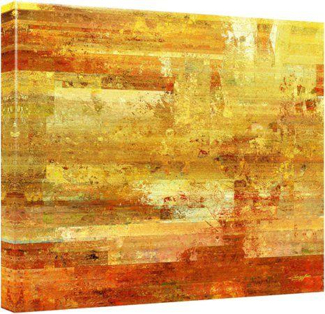 """Quadro Abstrato """"Construção Mediterrânea"""" de Carlos Alber — Reprodução em alta definição (gicleé) com pigmento mineral sobre canvas premium e acabamento texturizado."""