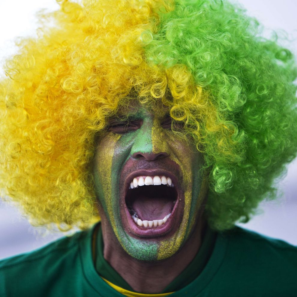 torcida brasileira. #copadomundo #copa2014 #worldcup #tatendomuitacopa