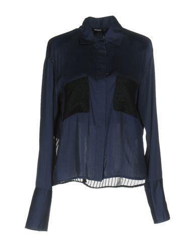 DESIGUAL Women's Shirt Blue XXL INT