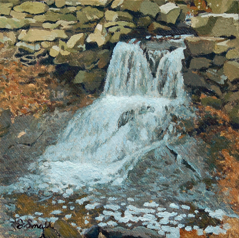 Waterfall at Melville Ponds,