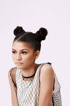 I could create a hair up look with the buns.The buns are the main element of my hair style.i like the way it takes the hair off the face but it could look to out of place