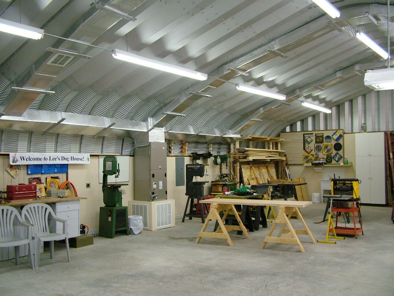 Image detail for model metal workshop interior would be for Metal building interior designs