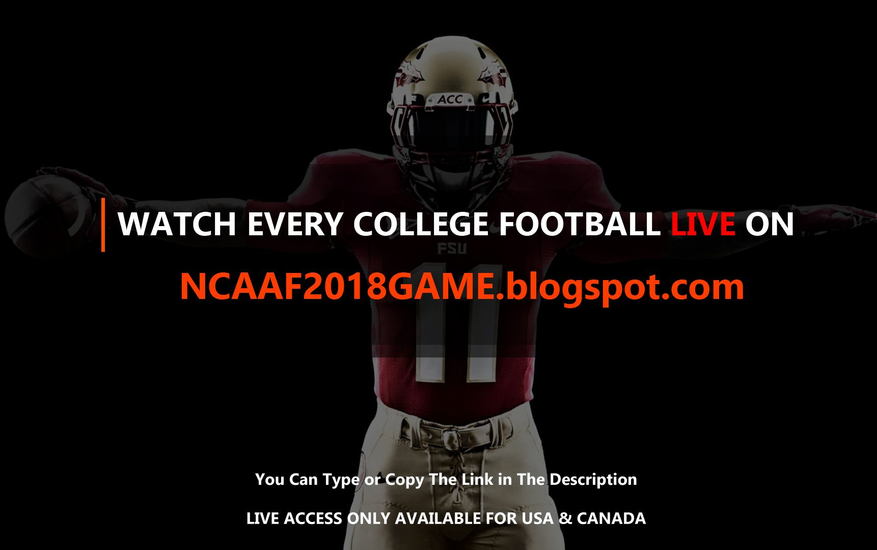 Pin By Mikel Jonson On College Football 2018 Live College Football
