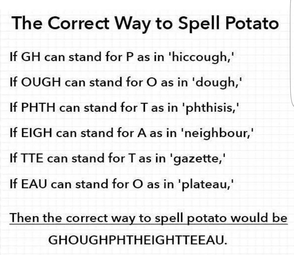 18 Reasons Why The English Language Is Utterly Infuriating English Language Funny Words Tumblr Funny