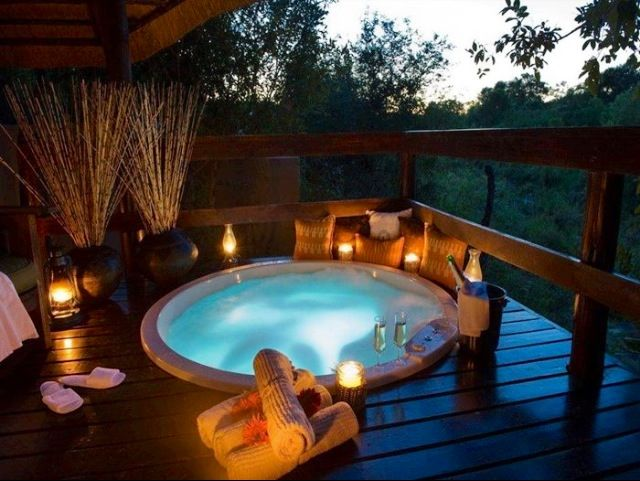 Top 25 resorts safari camps in africa readers 39 choice - Jacuzzi spa exterior ...