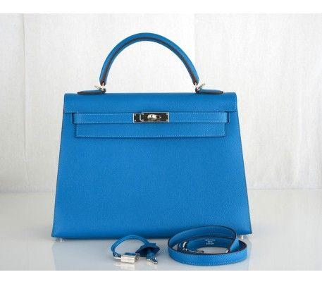 Hermes Mykonos Epsom 32cm Kelly Bag  d5cb28e042498