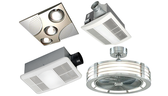 7 Best Bathroom Exhaust Fans With Light And Heater 2020