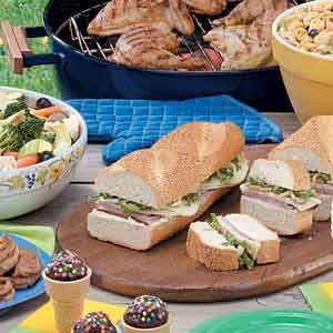 Quick easy picnic food recipes