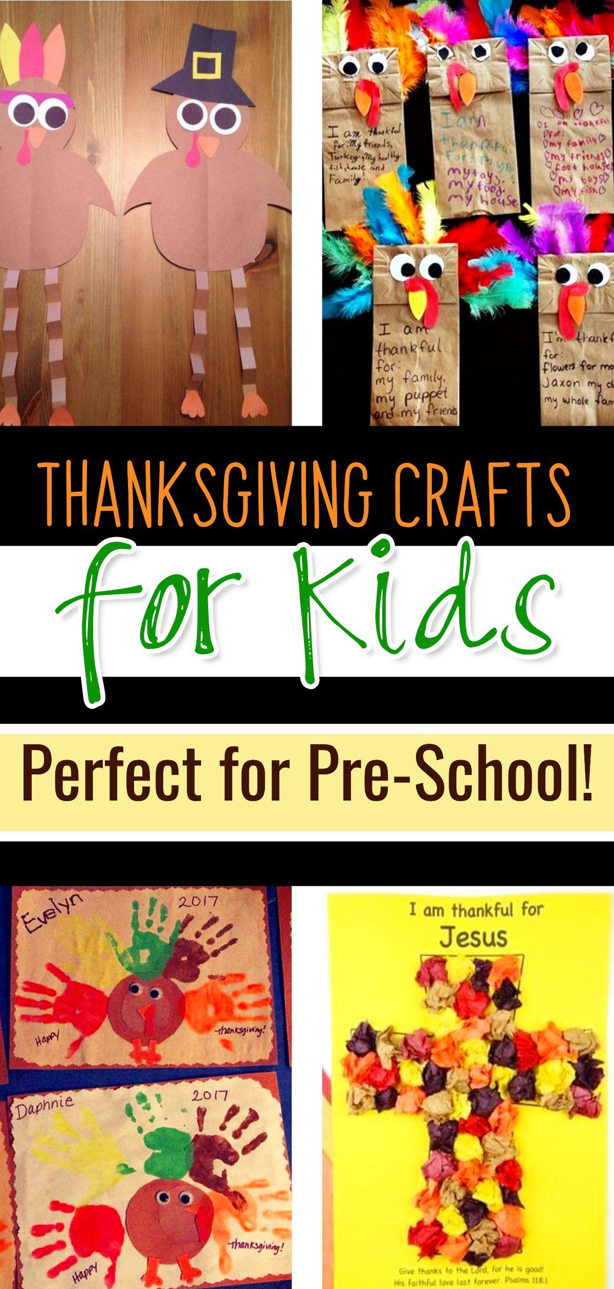 Thanksgiving Crafts For Kids Easy Preschool Toddler Amp Pre