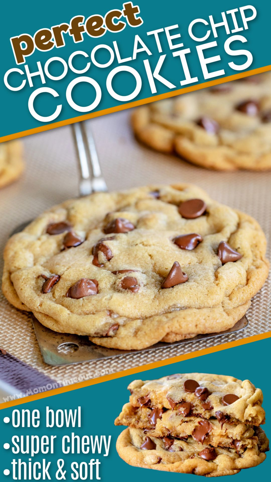 Perfect Chocolate Chip Cookies - Soft and Chewy!
