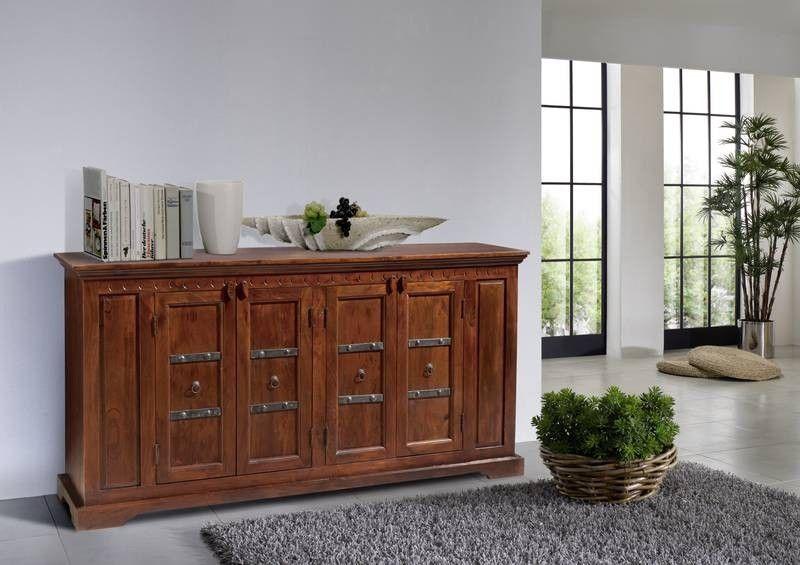 Sideboard Akazie 171x50x90 nougat lackiert OXFORD #403 Jetzt - sideboard für wohnzimmer