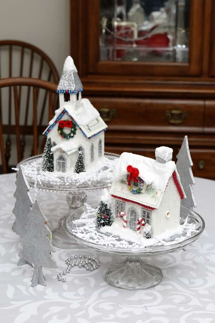 Photo of Christmas Decorating Ideas: 7 Years Of Vintage Christmas Displays Home And Mantel