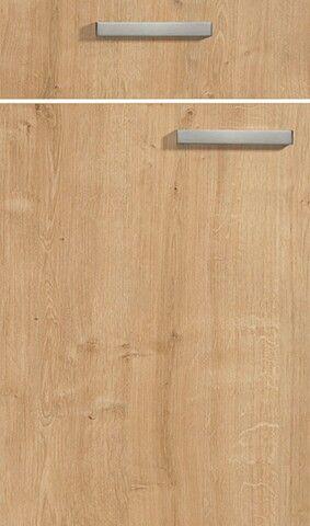 Nolte Manhattan 495 matte finish melamine timber veneer Chalet - besteckeinsatz für nolte küchen