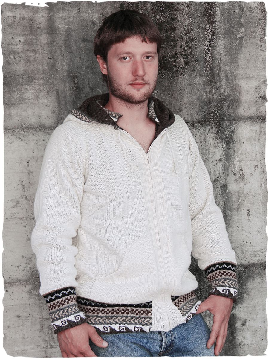 Giacca in lana d'alpaca double - face #modaetnica #ethnicalfashion #alpacaswhool #lanadialpaca #peruvianfashion #peru #lamamita #moda #fashion #italianfashion #style #italianstyle #modaitaliana #lamamitafashion