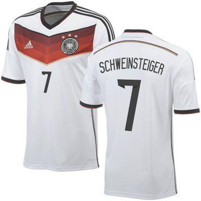 sneakers for cheap 850dc 0c529 Schweinsteiger #7 Germany adidas 2014 World Soccer Replica ...