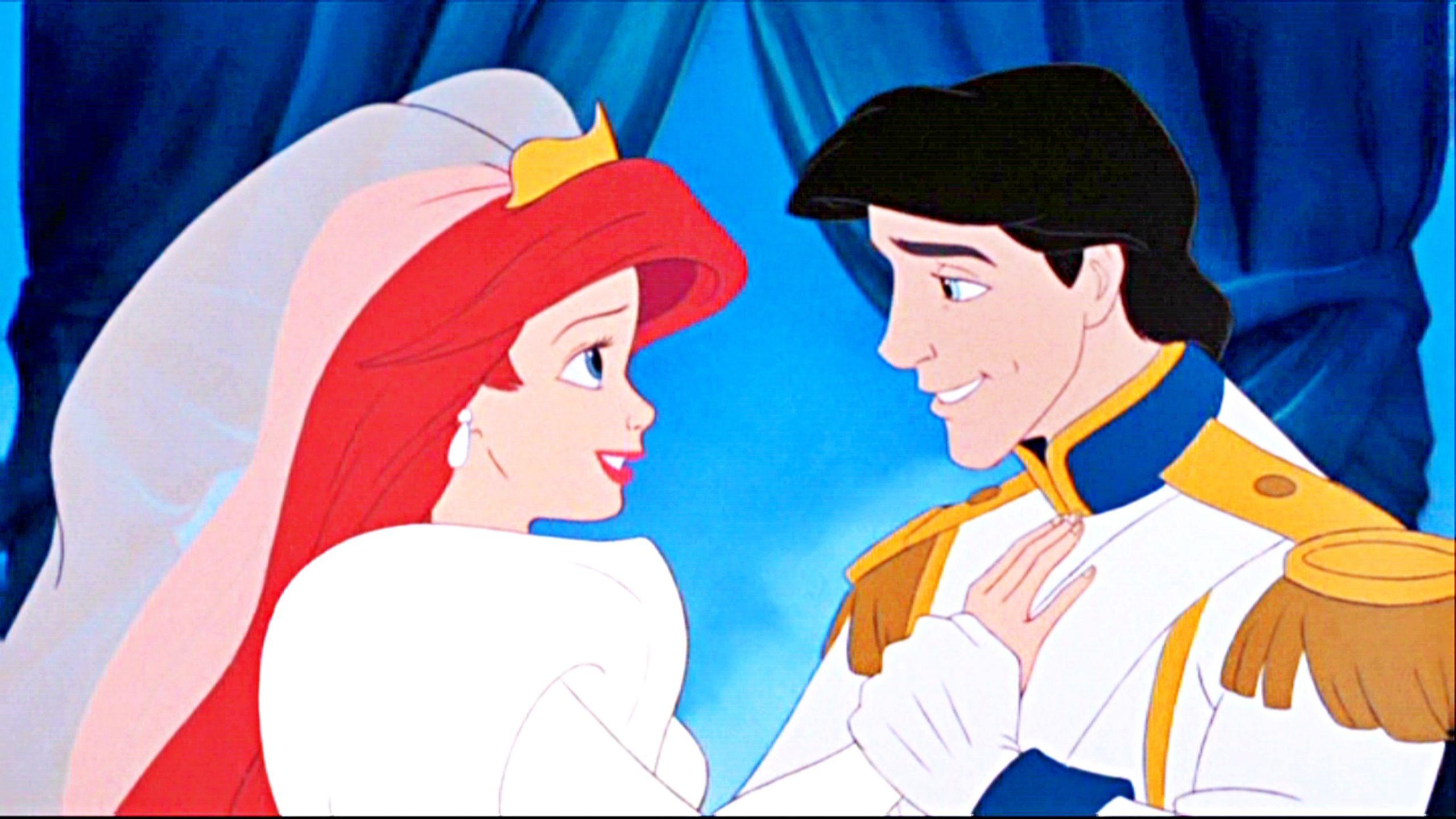 Walt Disney Screencaps Princess Ariel Prince Eric The Little