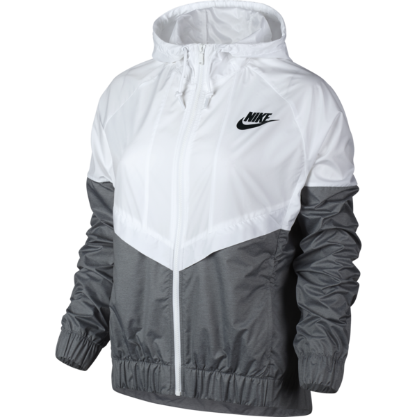 Nike Women Windrunner White, Cool Grey, Black Size S * You can get more  details by clicking on the image.