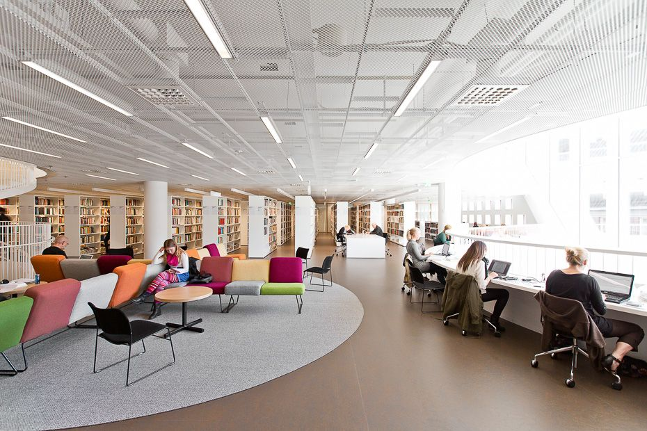 Helsinky University Library Main library, Helsinki