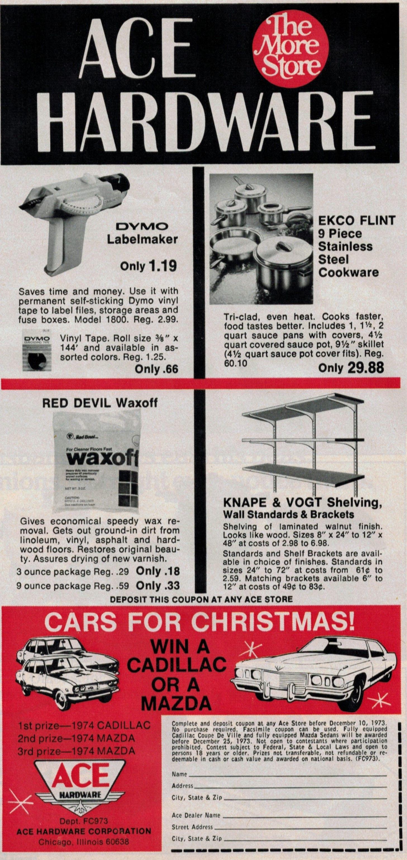 ace hardware 1973 ad