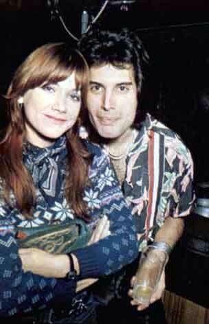 Freddie Mercury And Mary Austin Freddie Mercury David Bowie The