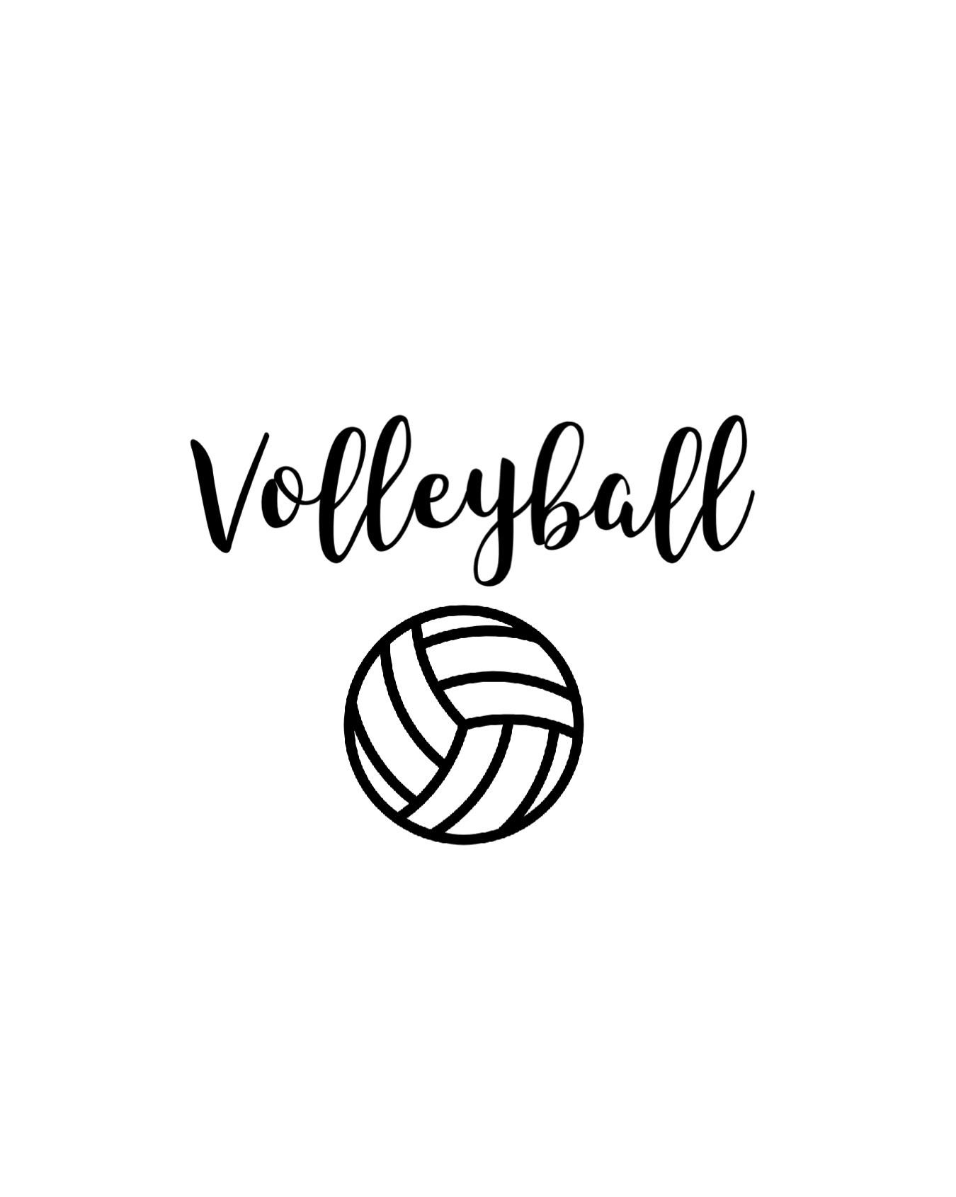 Pin By Kayla On V O ɩ ɩ ɛ Y B A ɩ ɩ Volleyball Wallpaper Volleyball Players Volleyball Drawing
