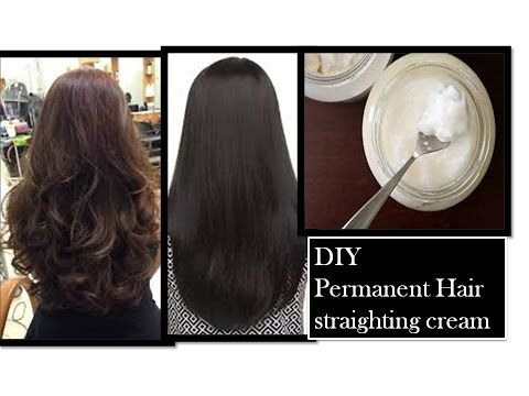 permanent hair straightening at home | using Natural
