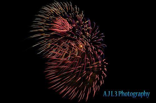 New Year's Eve Fireworks, Wichita Falls, Texas