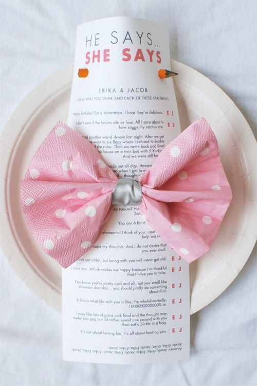 Classic Bridal Shower Games | Rehearsal dinners, Dinner ideas and ...