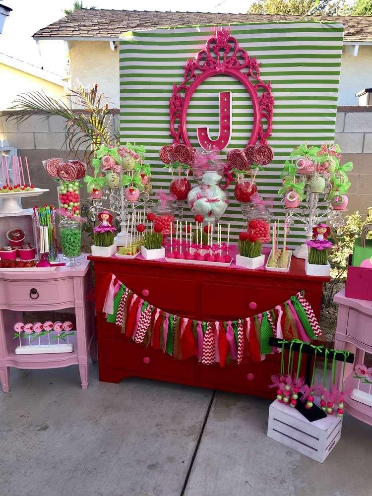 Strawberry Shortcake Birthday Party Ideas Photo 11 Of 38 Fruit