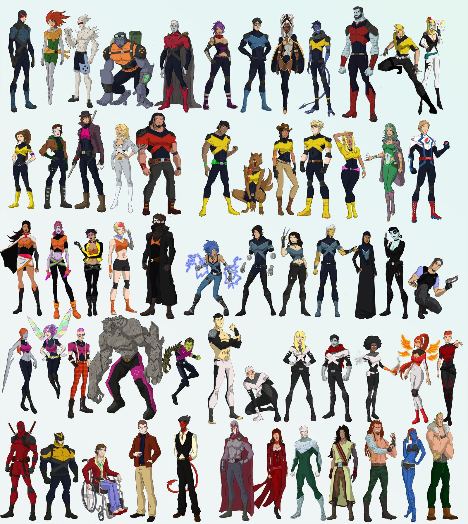 X-men by cspencey | Super Heroes | X men, X men evolution ...X Men Evolution Villains