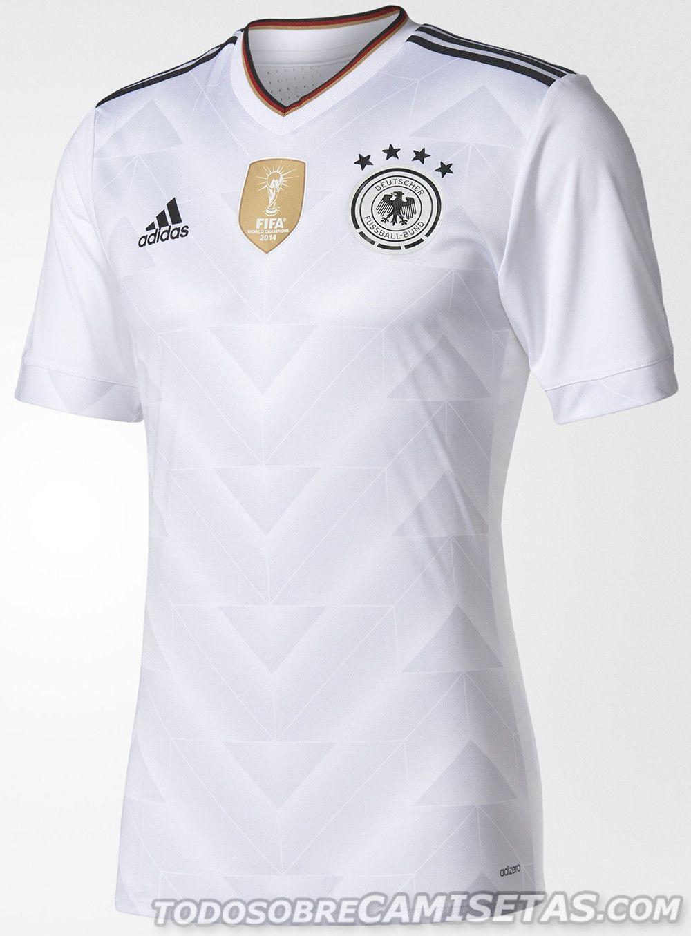Germany 2017-18 adidas home kit  baf57eb322cd9