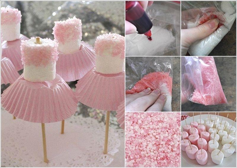 Marshmallow Centerpieces On Pinterest Baby Sprinkle