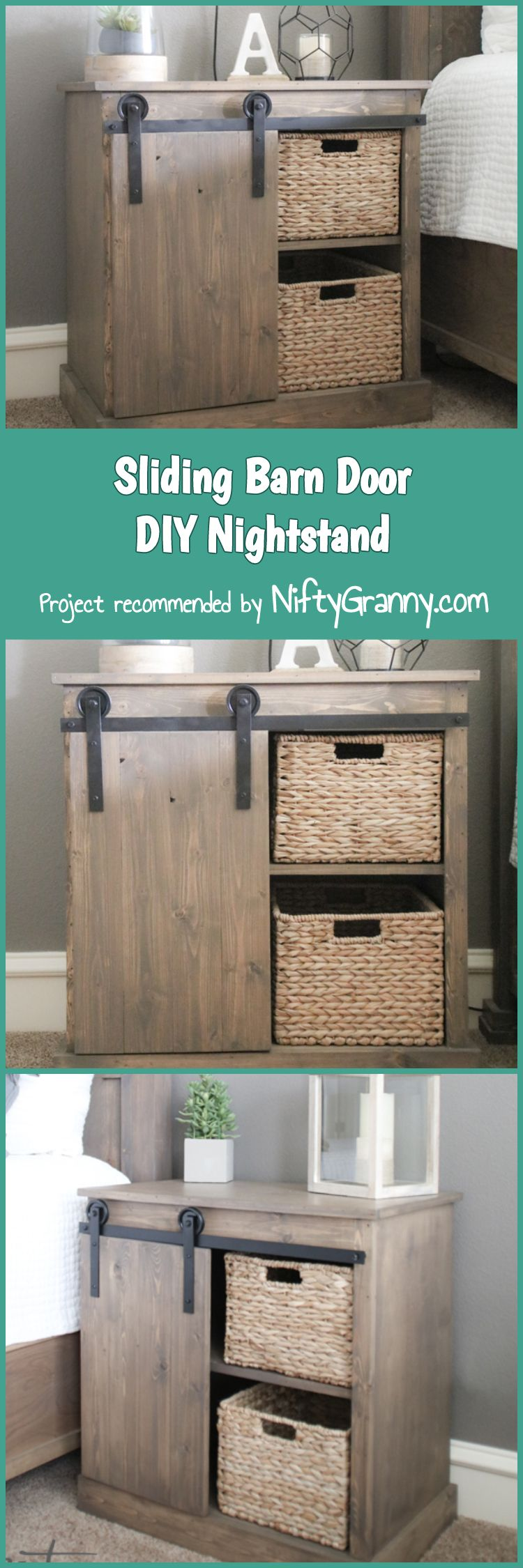 Unusual Bedroom Nightstands Diy Projects Diy How To Pinterest