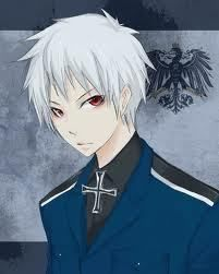 Post An Anime Character With White Hair And Red Eyes Anime Answers Hetalia Prussia Hetalia Anime