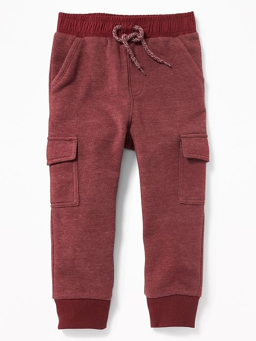 Relaxed Fleece Cargo Joggers for Toddler Boys | Atticus
