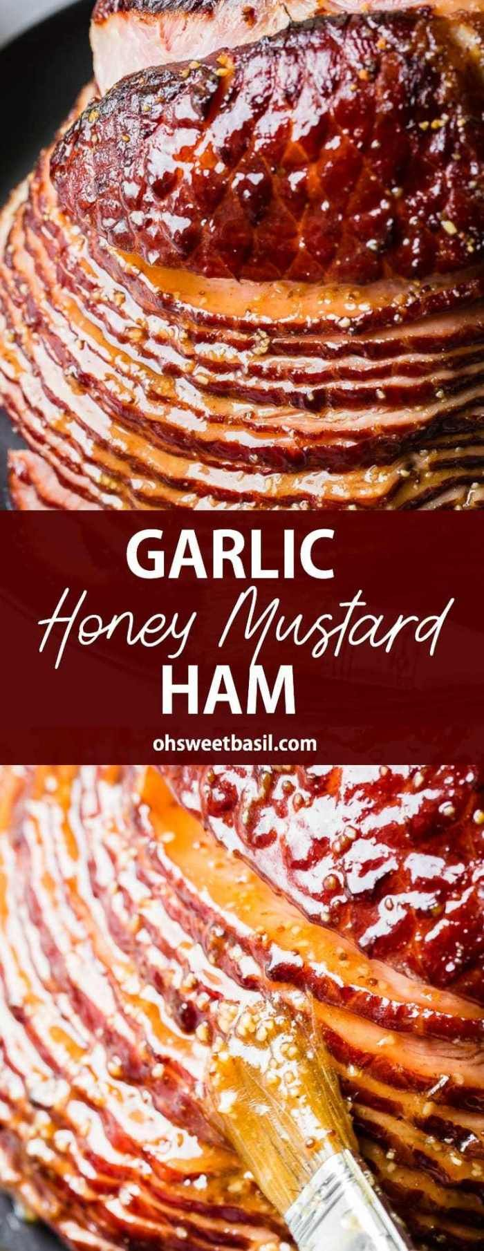 After posting the Worlds Best Brown Sugar Ham we just had to come up with another Easter Ham Recipe Our Garlic Honey Mustard is so easy but so flavorful