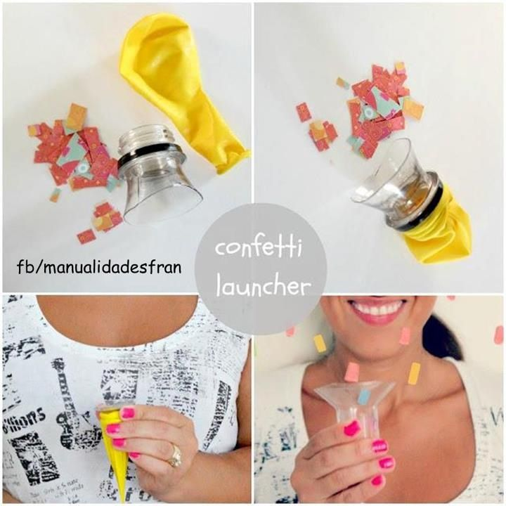 Confeti Explosivo Buenas Ideas Diy Confetti New Year