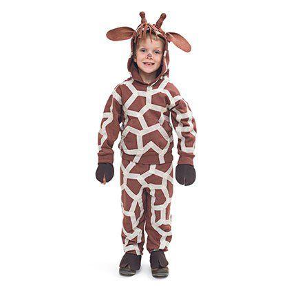 Giraffe Costume Easy DIY