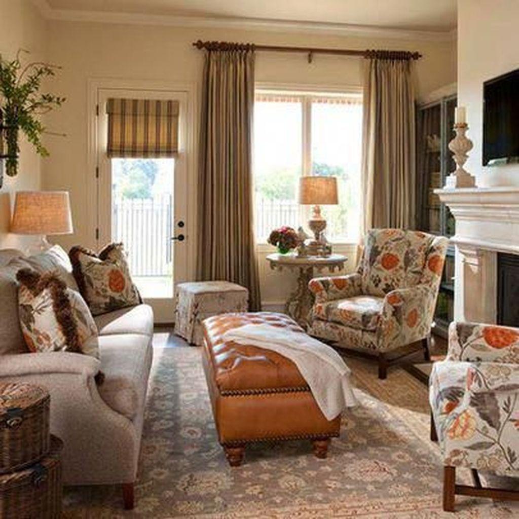 50 Stunning Family Friendly Living Room Ideas - HOMYHOMEE ...